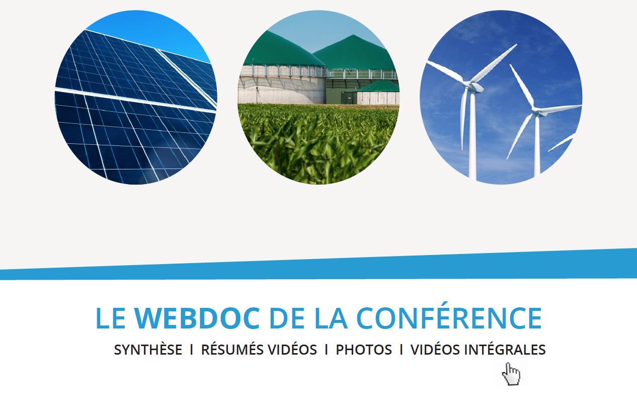 """WEBdoc du colloque """"financement et développement des EnR en Bretagne"""""""