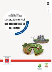 synthèse multimédia de la journée technique « le sol, acteur-clé des territoires et du climat – 12 mai 2016 »